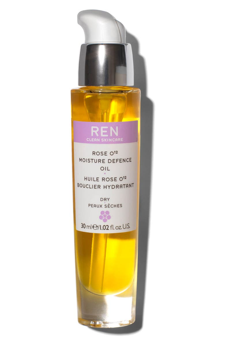 REN CLEAN SKINCARE SPACE.NK.apothecary REN Rose O¹² Moisture Defence Serum, Main, color, 000