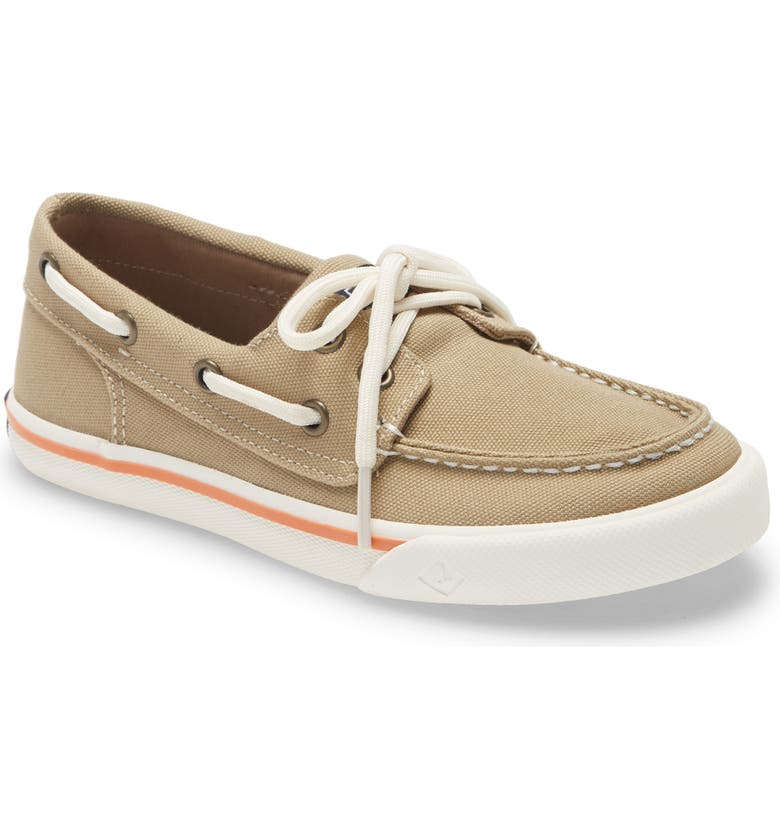 SPERRY KIDS Sperry Bahama Boat Shoe, Main, color, KHAKI