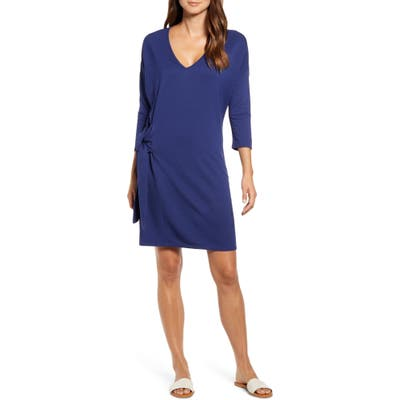 Tommy Bahama French Terry Shift Dress, Blue