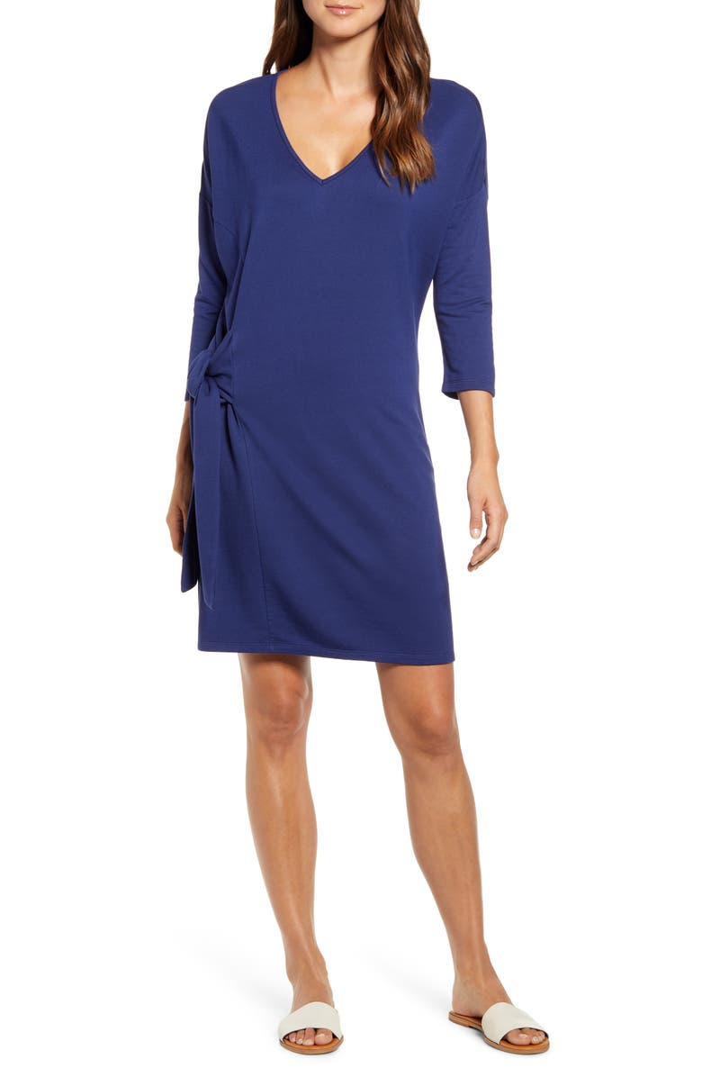 TOMMY BAHAMA French Terry Shift Dress, Main, color, 400