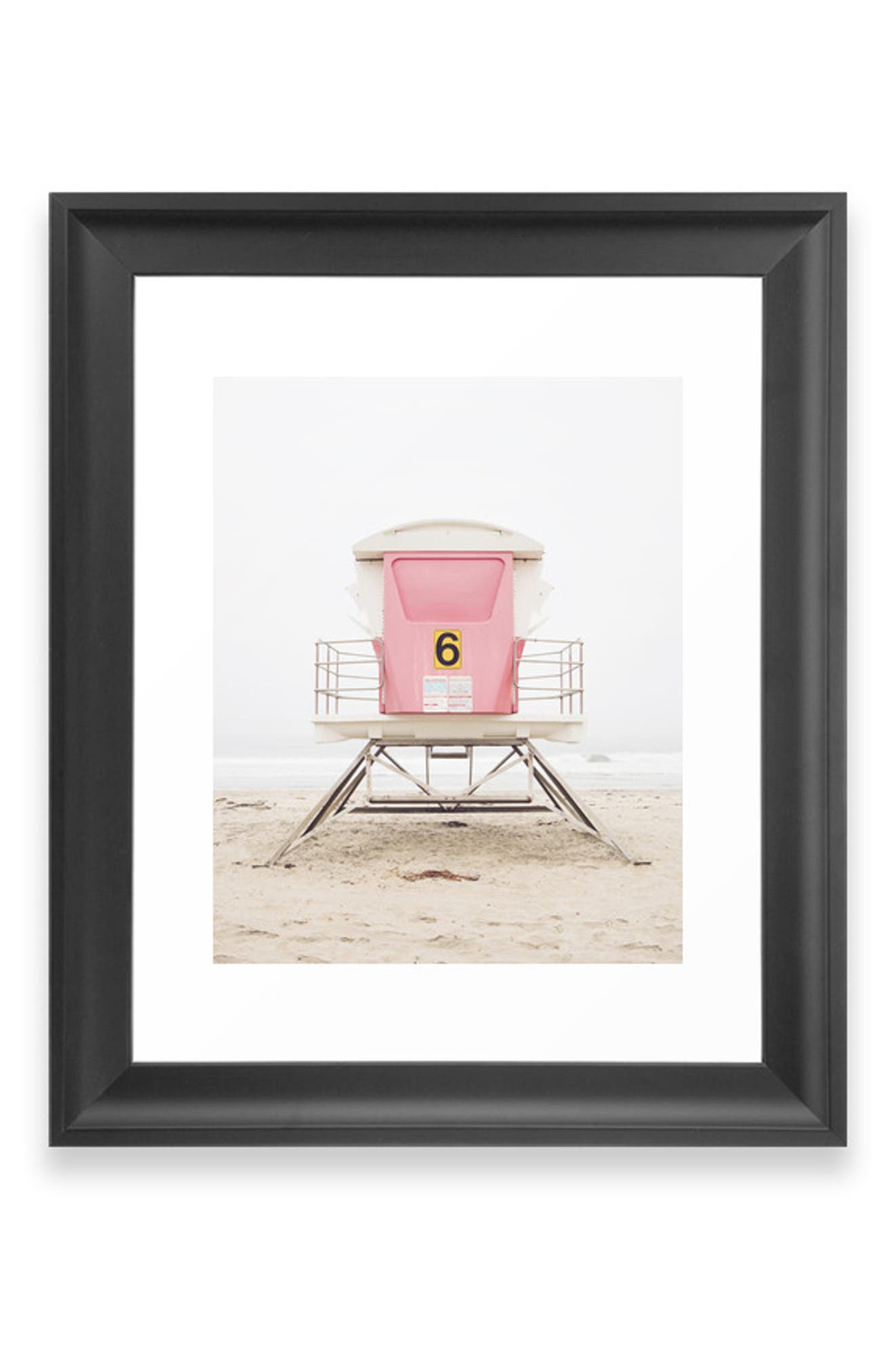 Bring the serenity of the beach into your home with a matte-finish art print available on its own or in a ready-to-hang frame. Style Name: Deny Designs Pink Tower Art Print. Style Number: 5868604 1. Available in stores.