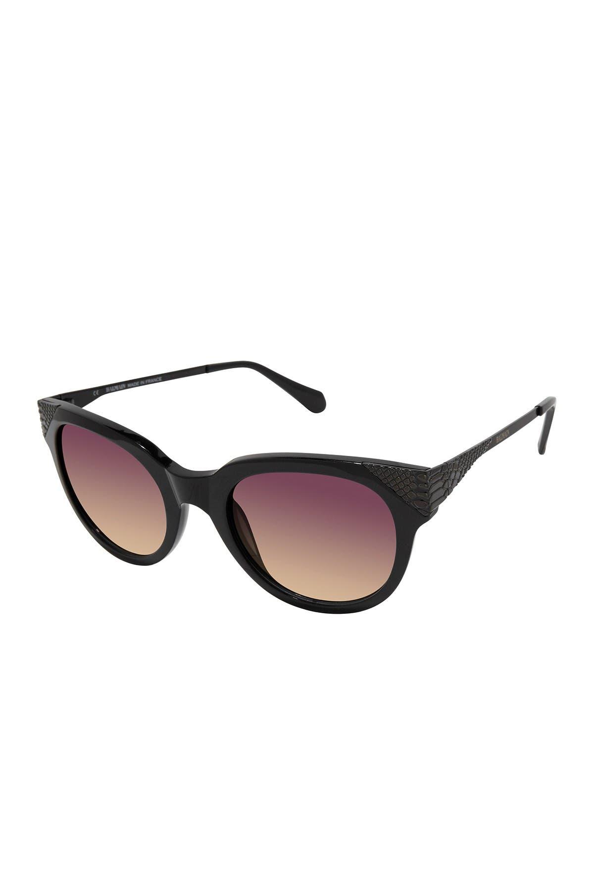 Image of Balmain 53mm Modified Cat Eye Sunglasses