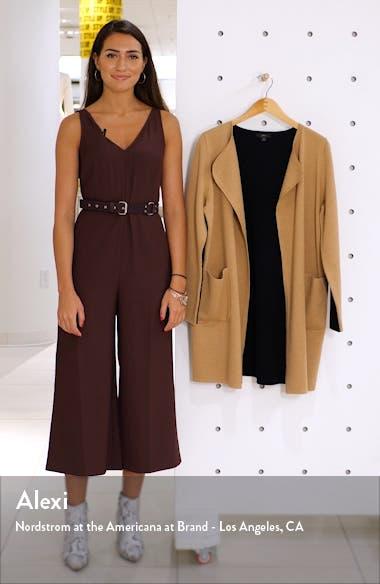 Juliette Colorblock Collarless Sweater Blazer, sales video thumbnail