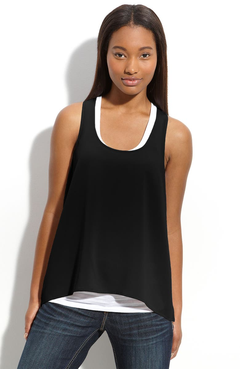 FRENCHI <sup>®</sup> Sleeveless Top, Main, color, 001