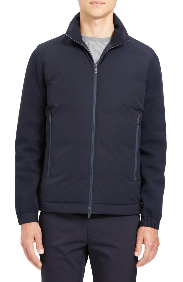 THEORY Alpine Regular Fit Jacket, Main, color, ECLIPSE