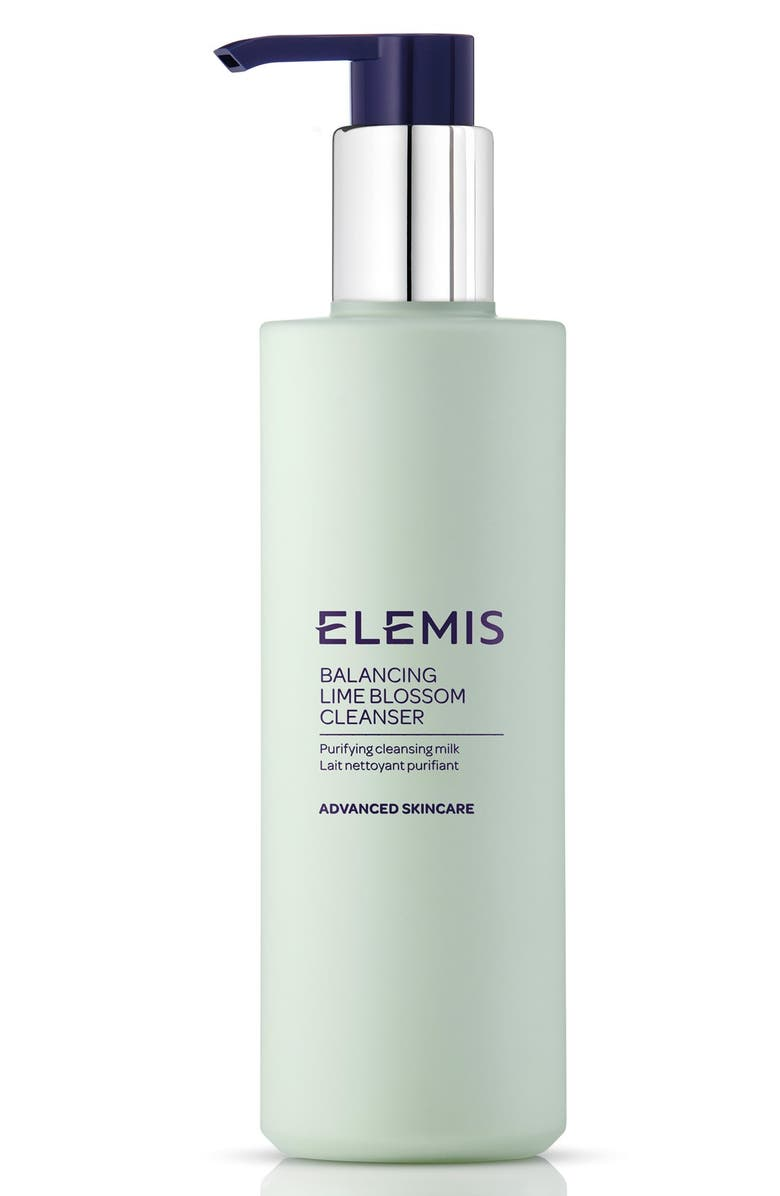 ELEMIS Balancing Lime Blossom Cleanser, Main, color, 000
