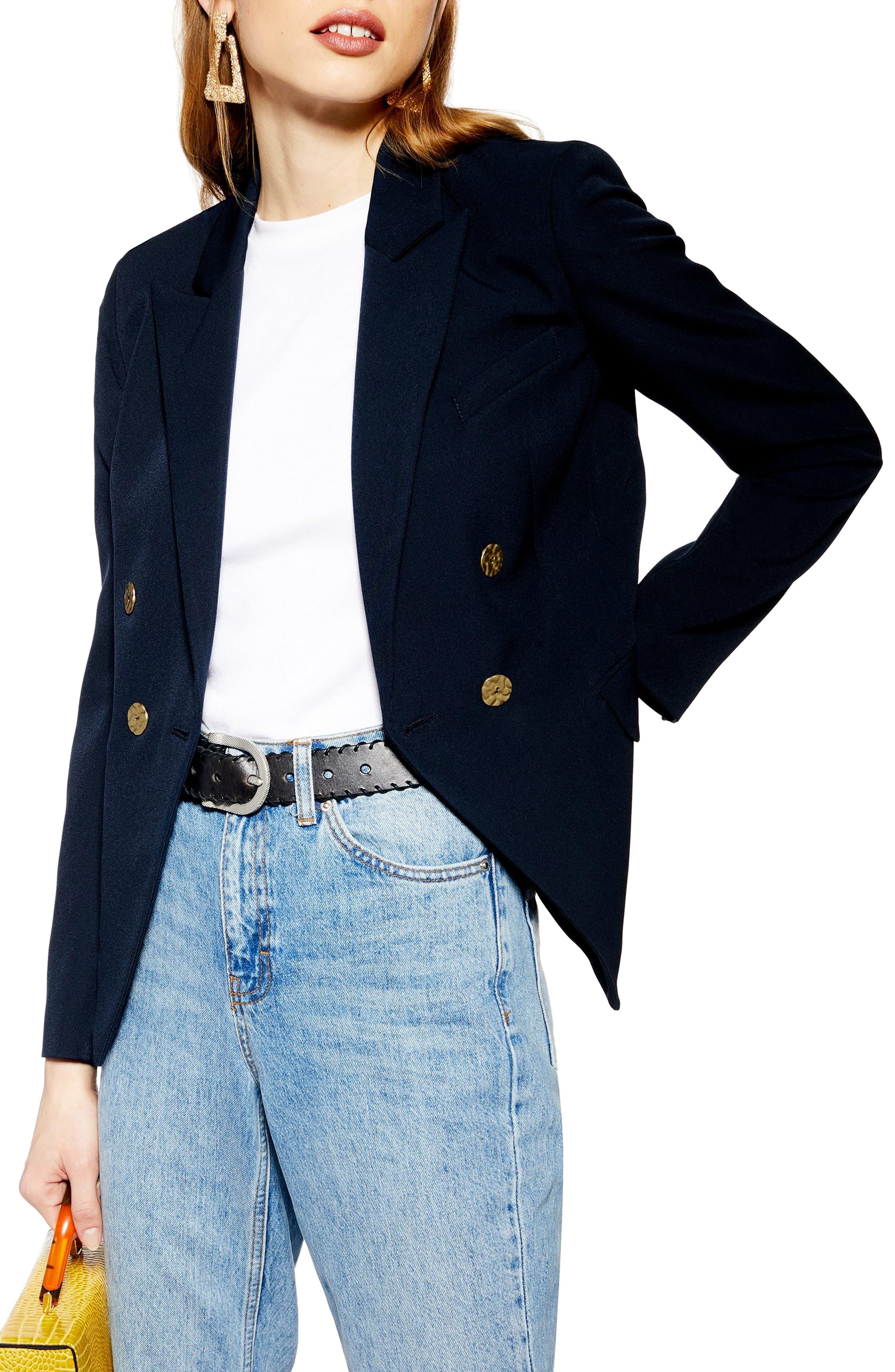 Belinda Jacket, Main, color, NAVY BLUE