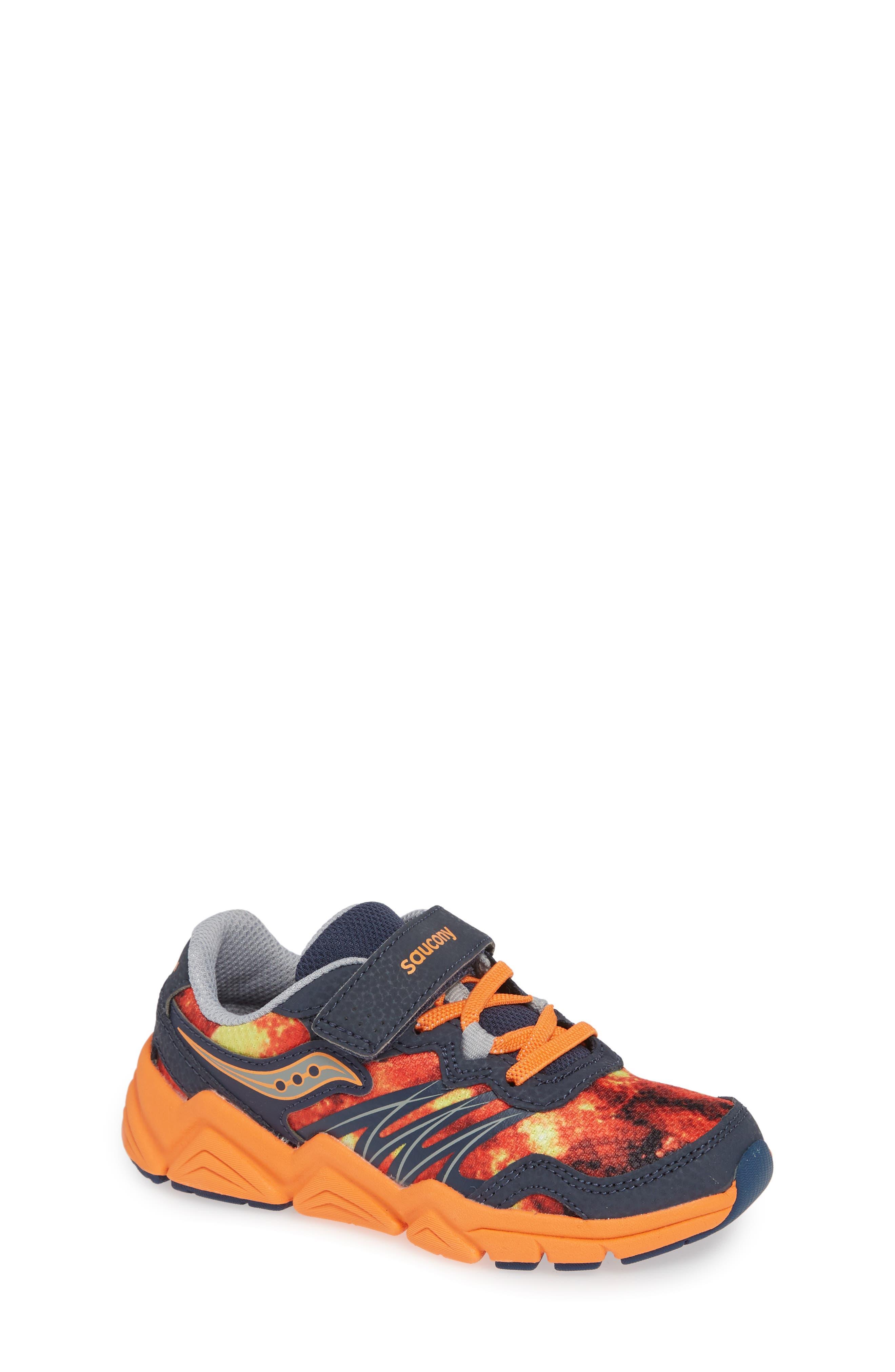 Boys Saucony Kotaro Flash Sneaker Size 15 M  Orange