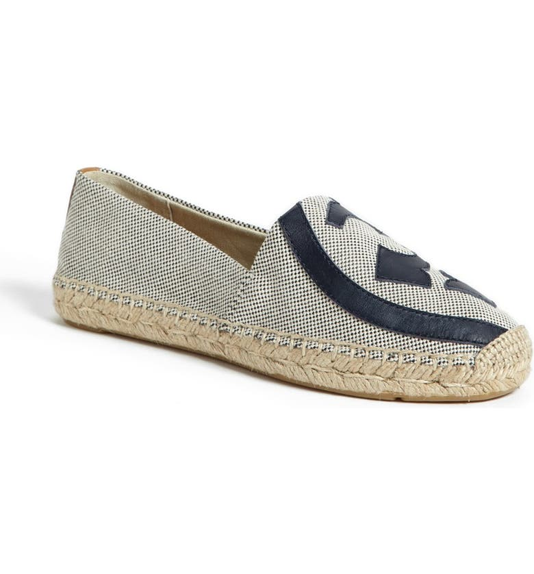 TORY BURCH 'Lonnie' Espadrille Flat, Main, color, 263