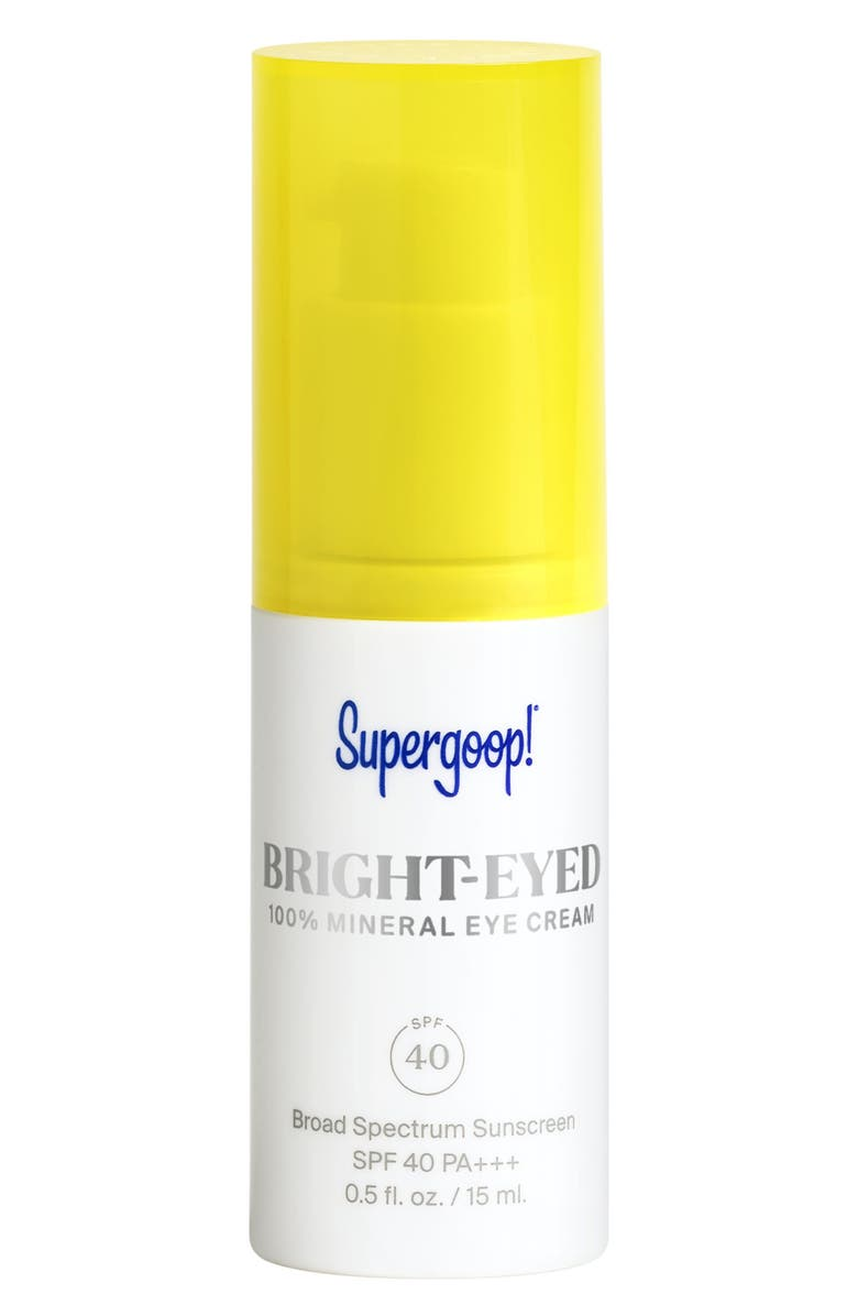 SUPERGOOP!<SUP>®</SUP> Supergoop! Bright-Eyed Mineral Eye Cream SPF 40, Main, color, NO COLOR