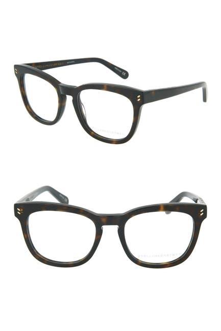 Image of Stella McCartney 50mm Square Optical Glasses