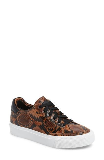 Image of Rag & Bone Army Snake Embossed Low Top Sneaker