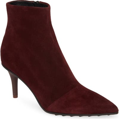 Rag & Bone Beha Pointed Toe Bootie, Burgundy