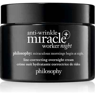 Philosophy Anti-Wrinkle Miracle Worker Night + Line-Correcting Overnight Cream