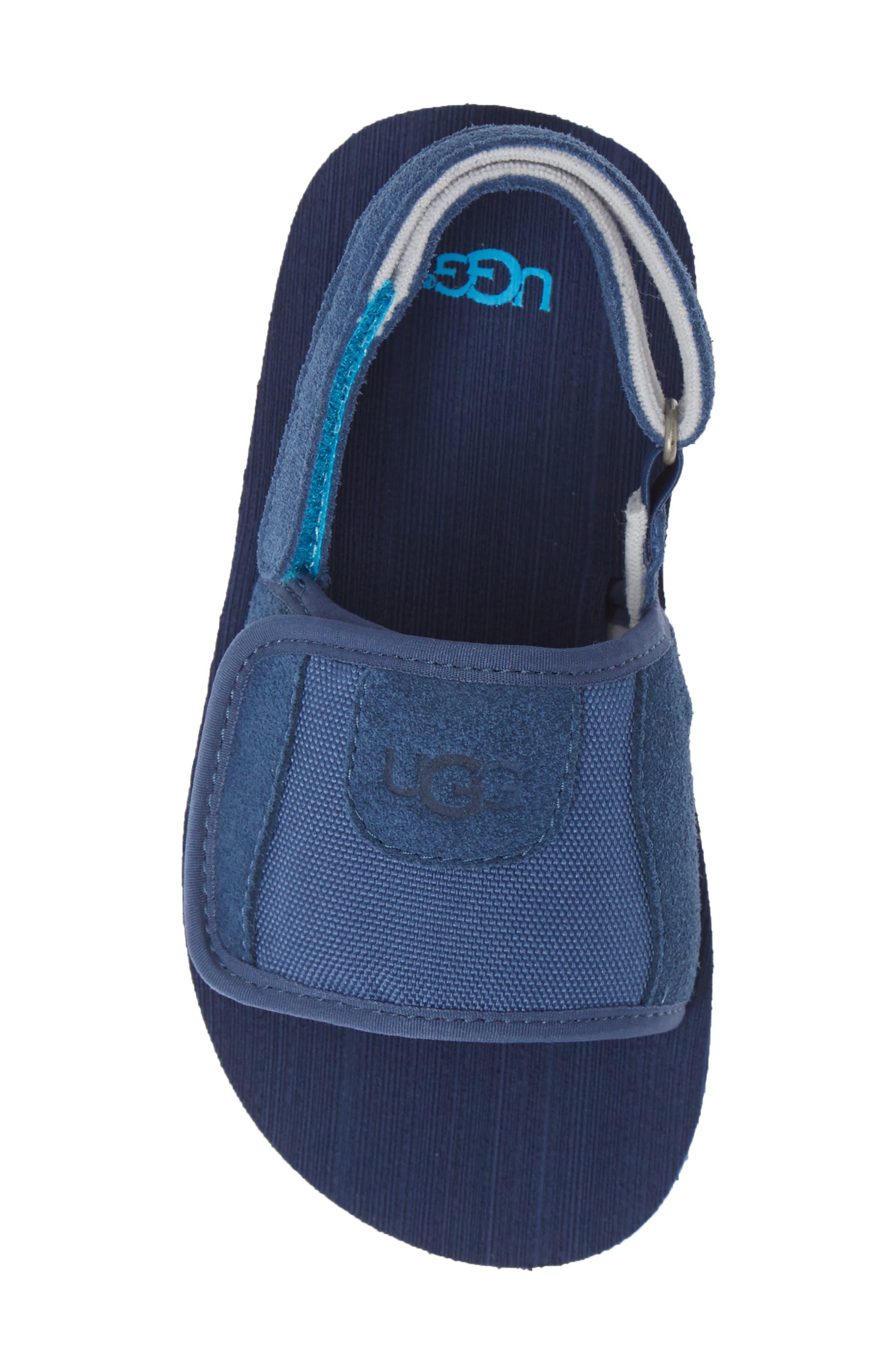 ,                             Beach Slingback Sandal,                             Alternate thumbnail 5, color,                             ENSIGN BLUE