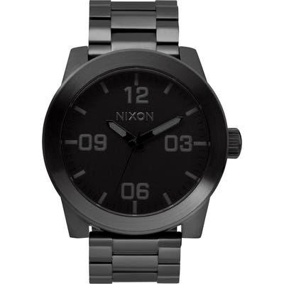 Nixon The Corporal Bracelet Watch, 4m