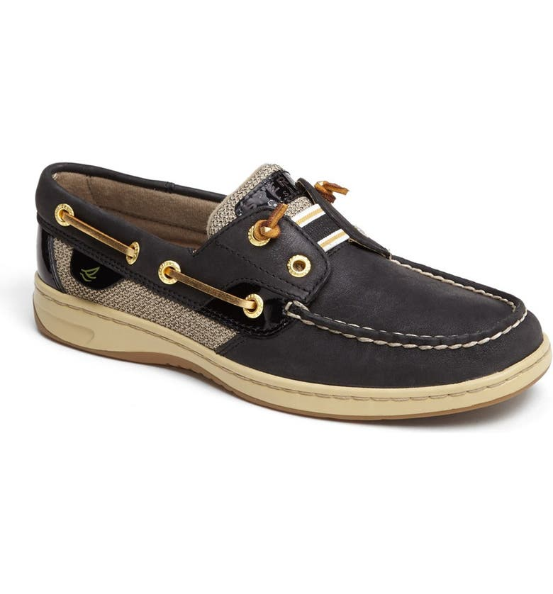 SPERRY Top-Sider<sup>®</sup> 'Rainbowfish' Boat Shoe, Main, color, 001