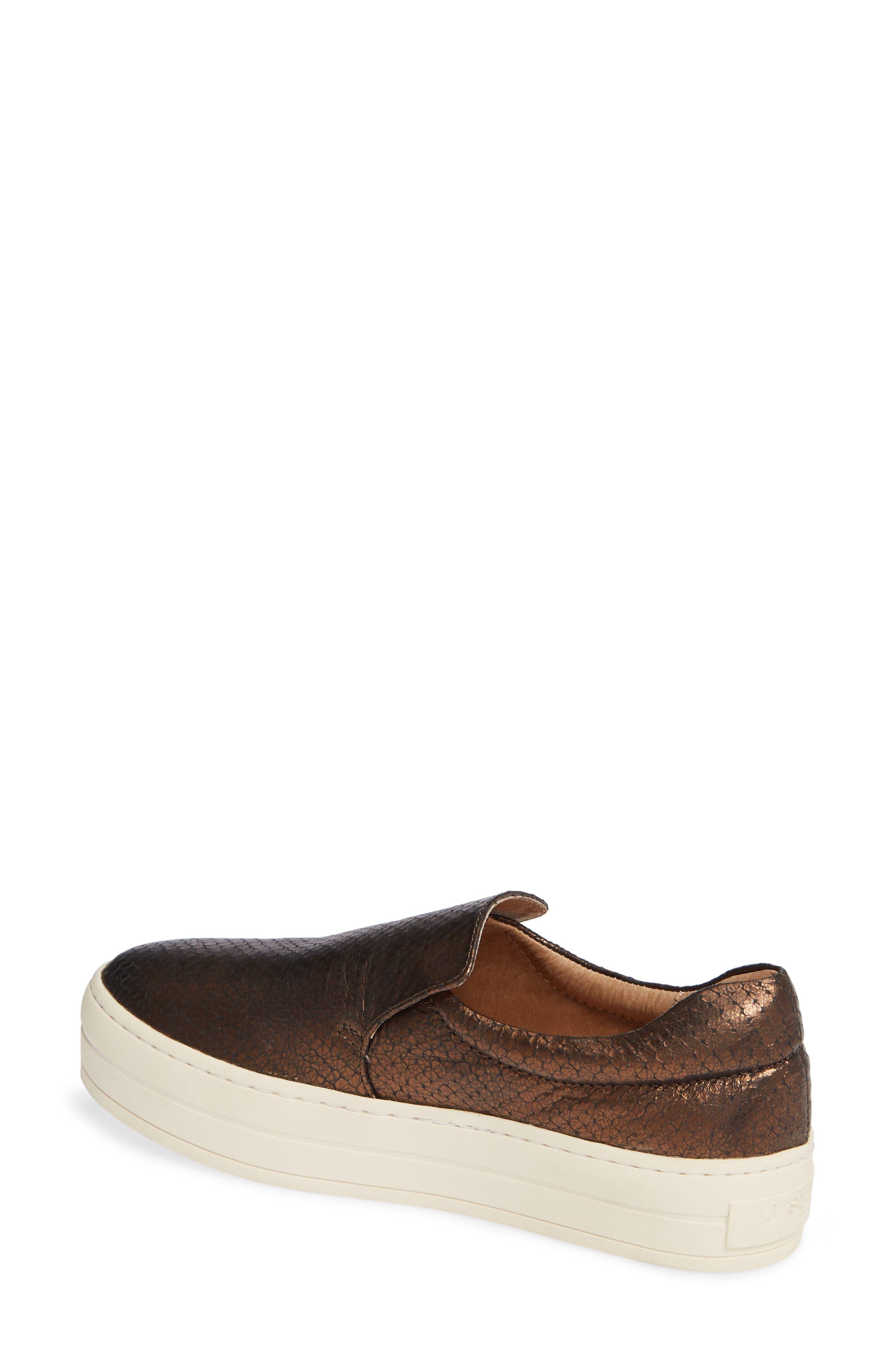,                             Harry Slip-On Sneaker,                             Alternate thumbnail 2, color,                             BRONZE EMBOSSED LEATHER