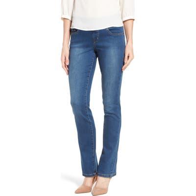 Jag Jeans Peri Pull-On Straight Leg Jeans, Blue