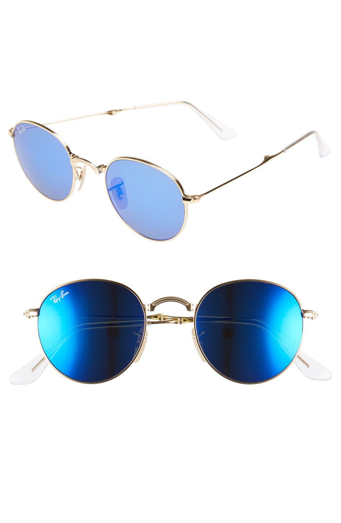 Icons 50mm Folding Sunglasses, Main, color, 454