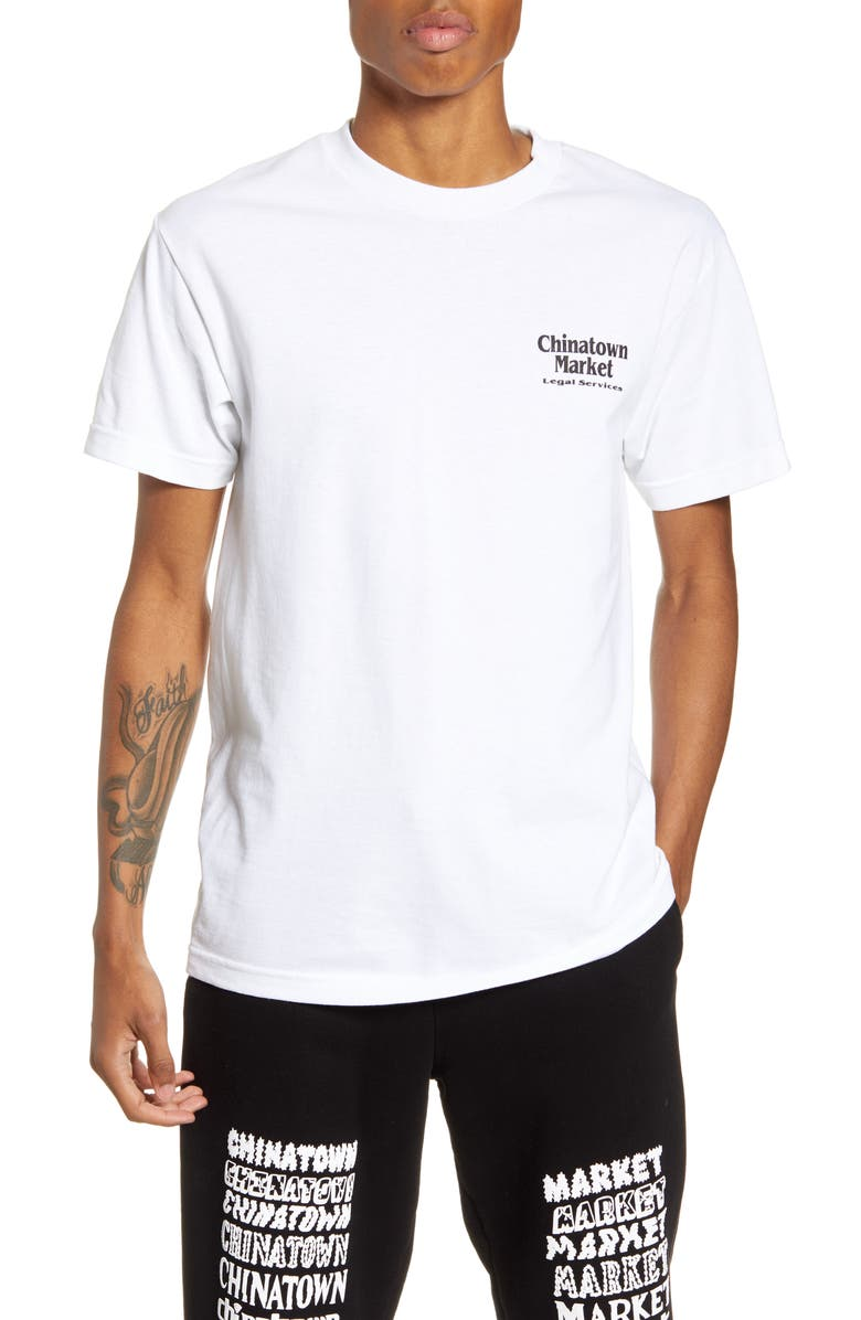 CHINATOWN MARKET Legal Services T-Shirt, Main, color, 100