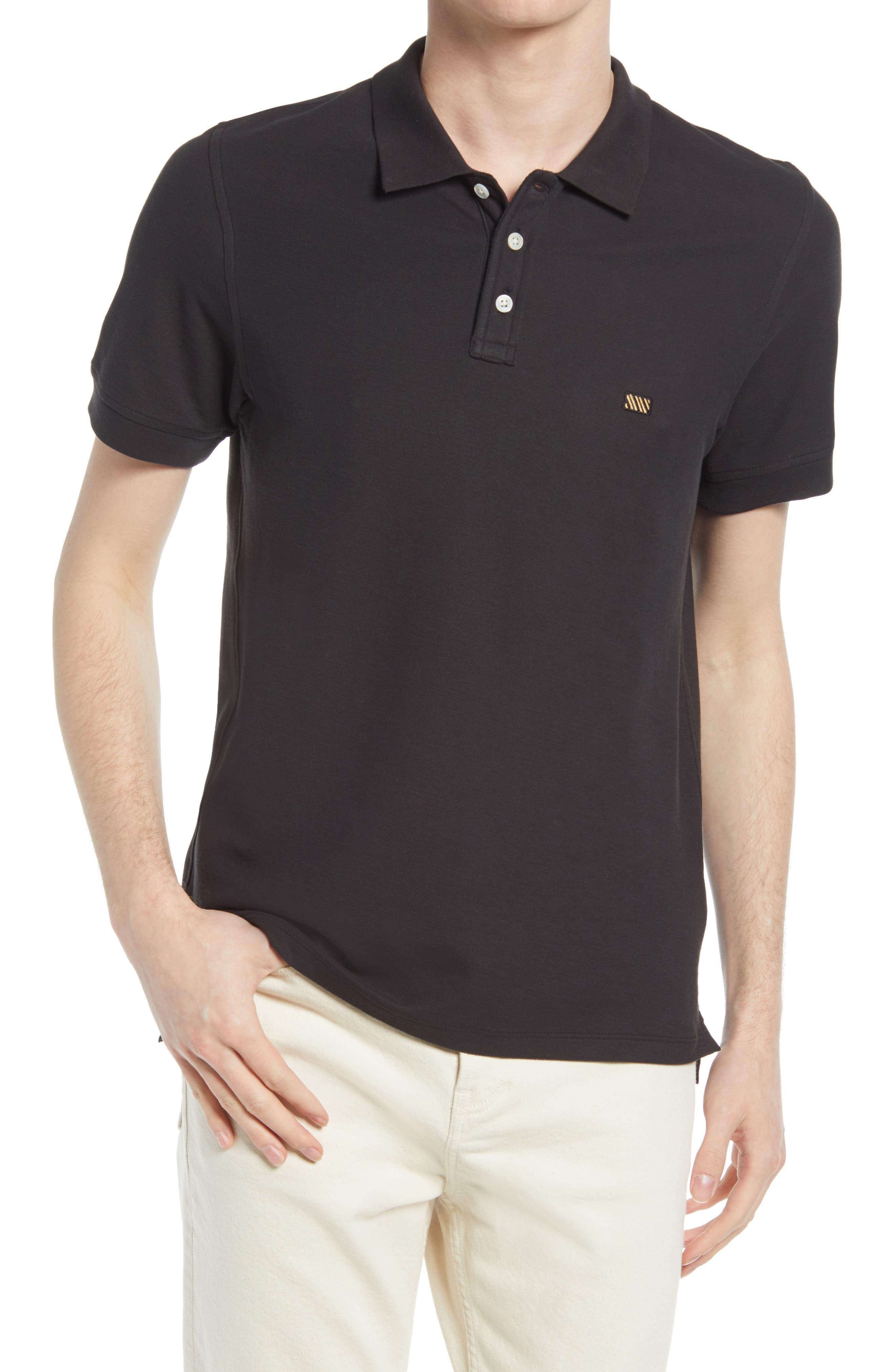 Slim Fit Pima Cotton Pique Polo Shirt