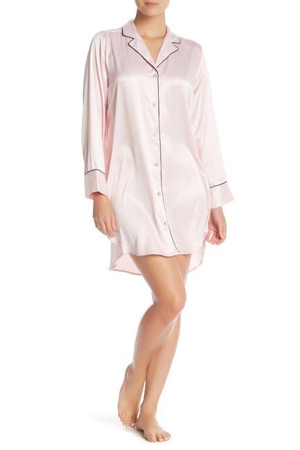 Image of Natori Notch Collar Sleep Shirt