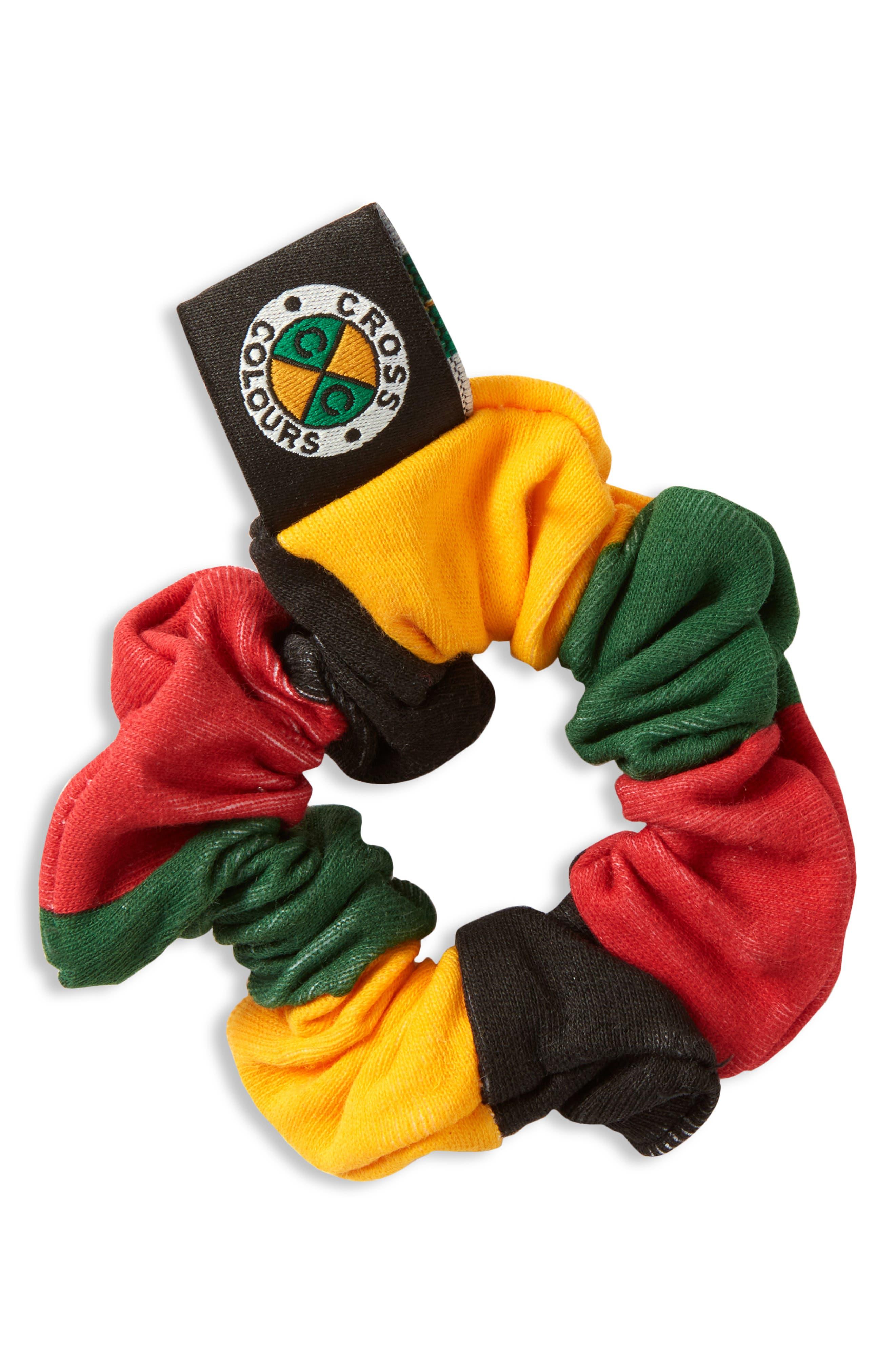 Colorblock Scrunchie