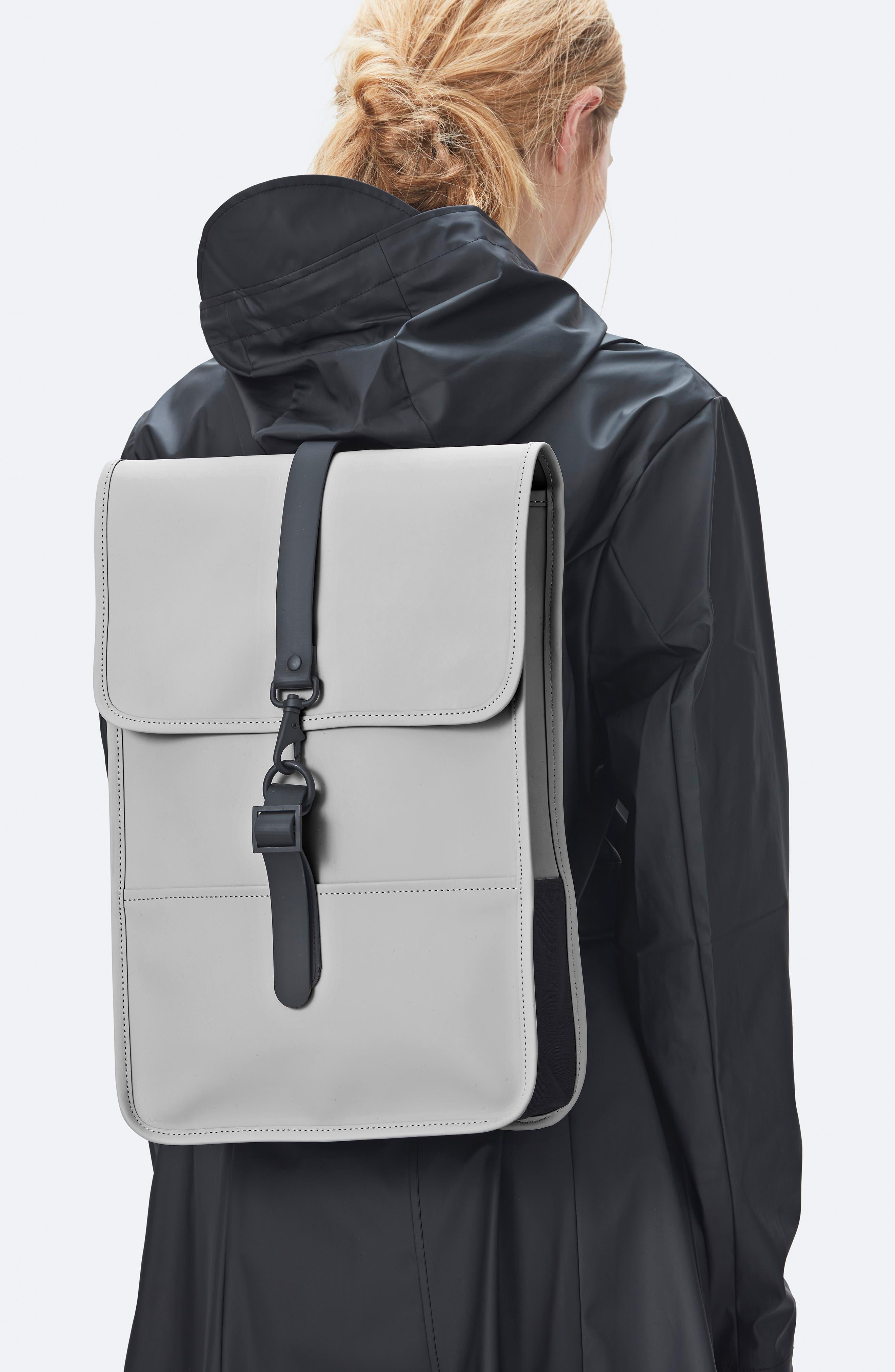,                             Mini Waterproof Backpack,                             Alternate thumbnail 2, color,                             STONE