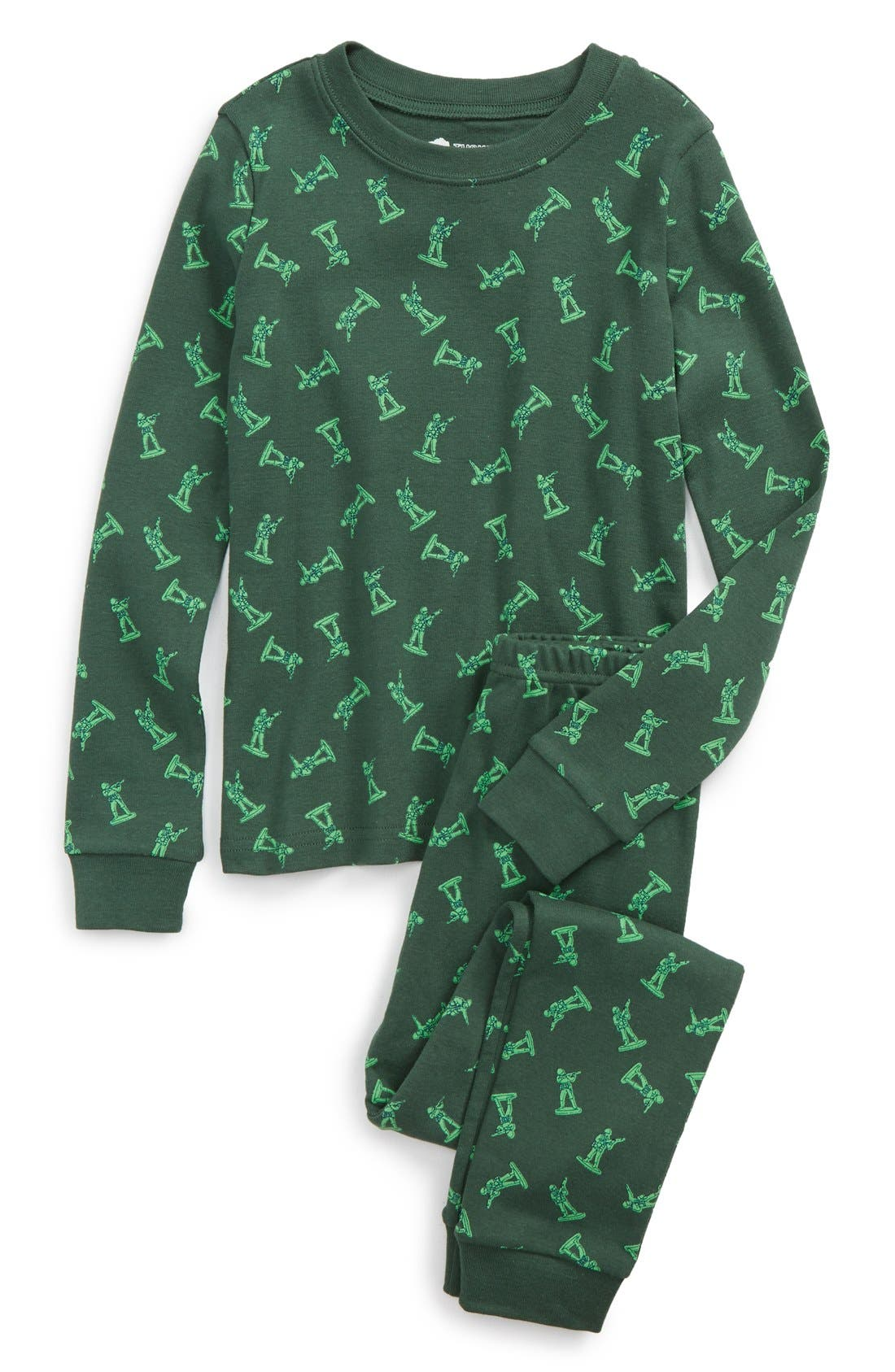 ,                             Fitted Two-Piece Pajamas,                             Main thumbnail 35, color,                             301