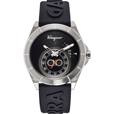 Salvatore Ferragamo Urban Silicon Strap Watch, 4m