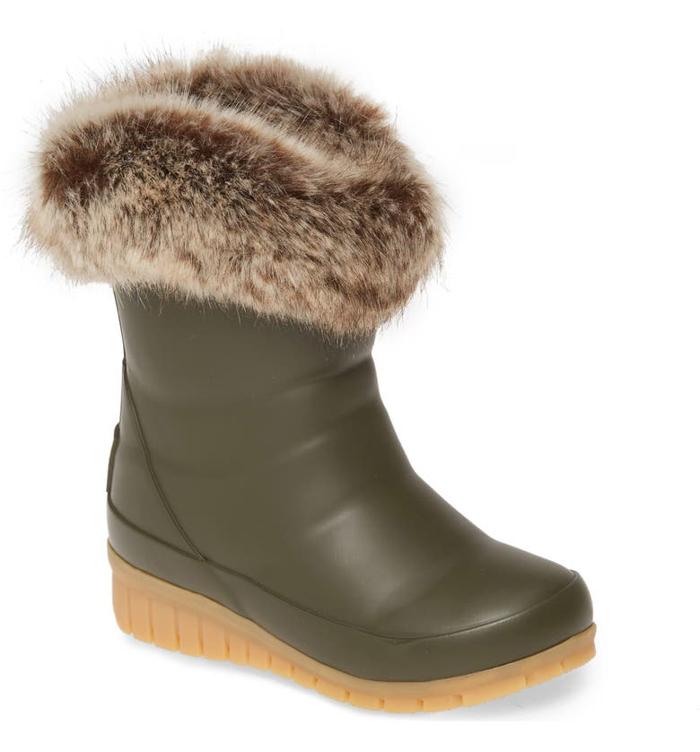 JOULES Junior Chilton Waterproof Rain Boot, Main, color, GRAPE LEAF