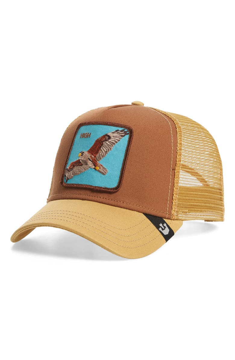 GOORIN BROS. High In The Sky Trucker Hat, Main, color, 201