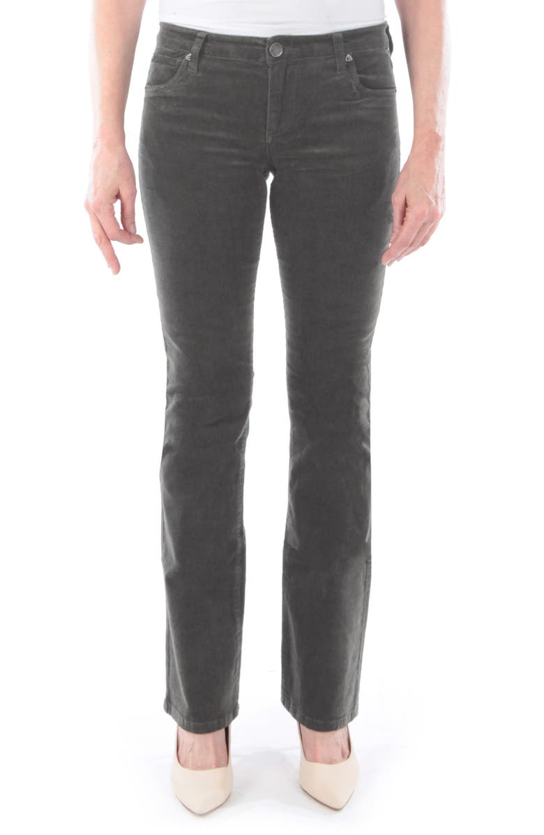 KUT FROM THE KLOTH Baby Bootcut Corduroy Jeans, Main, color, CONCRETE
