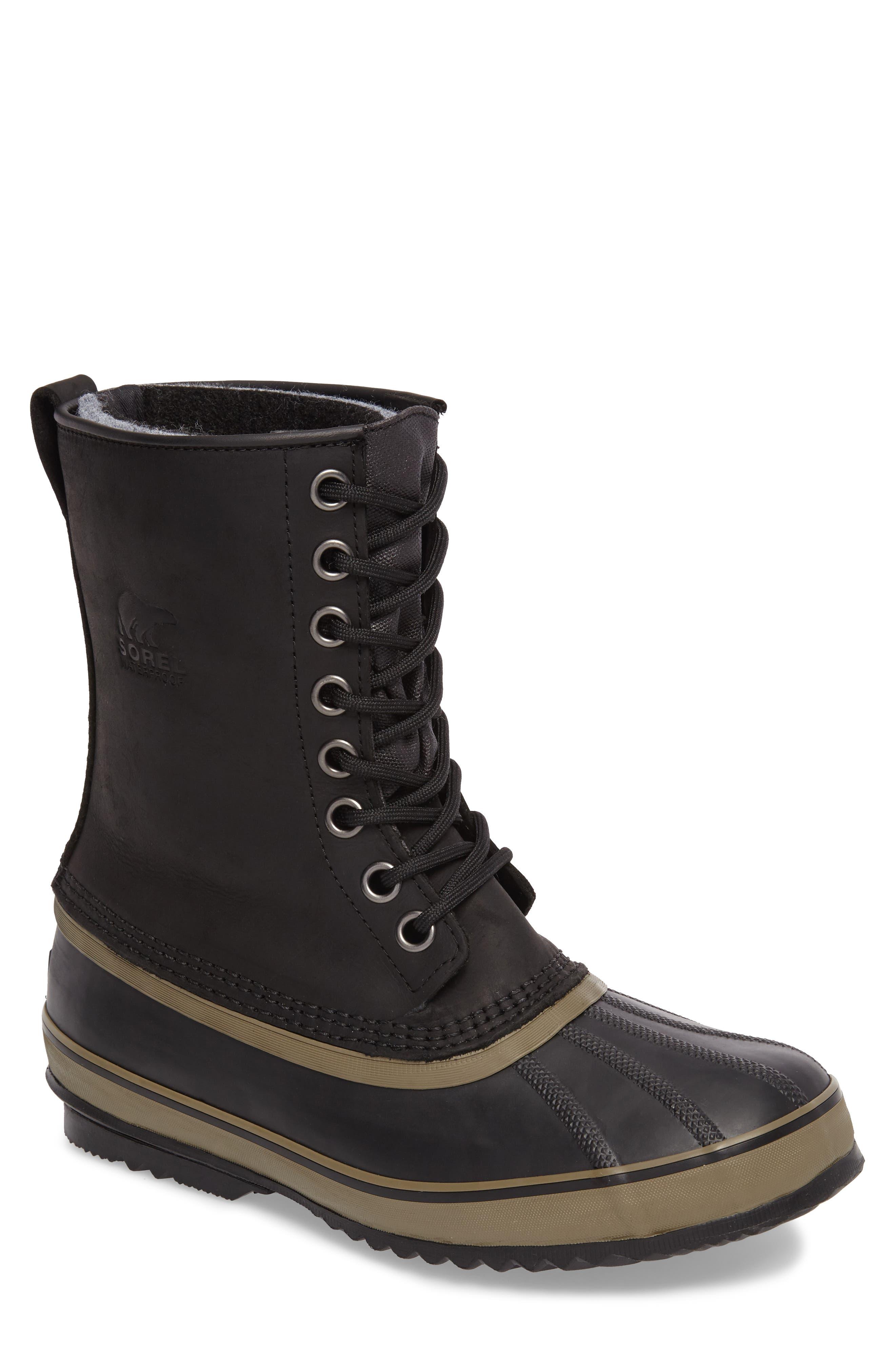 Sorel 1964 Premium T Snow Waterproof Boot- Black