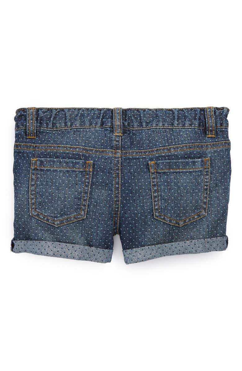 PEEK AREN'T YOU CURIOUS Peek 'Harper' Denim Shorts, Main, color, 402