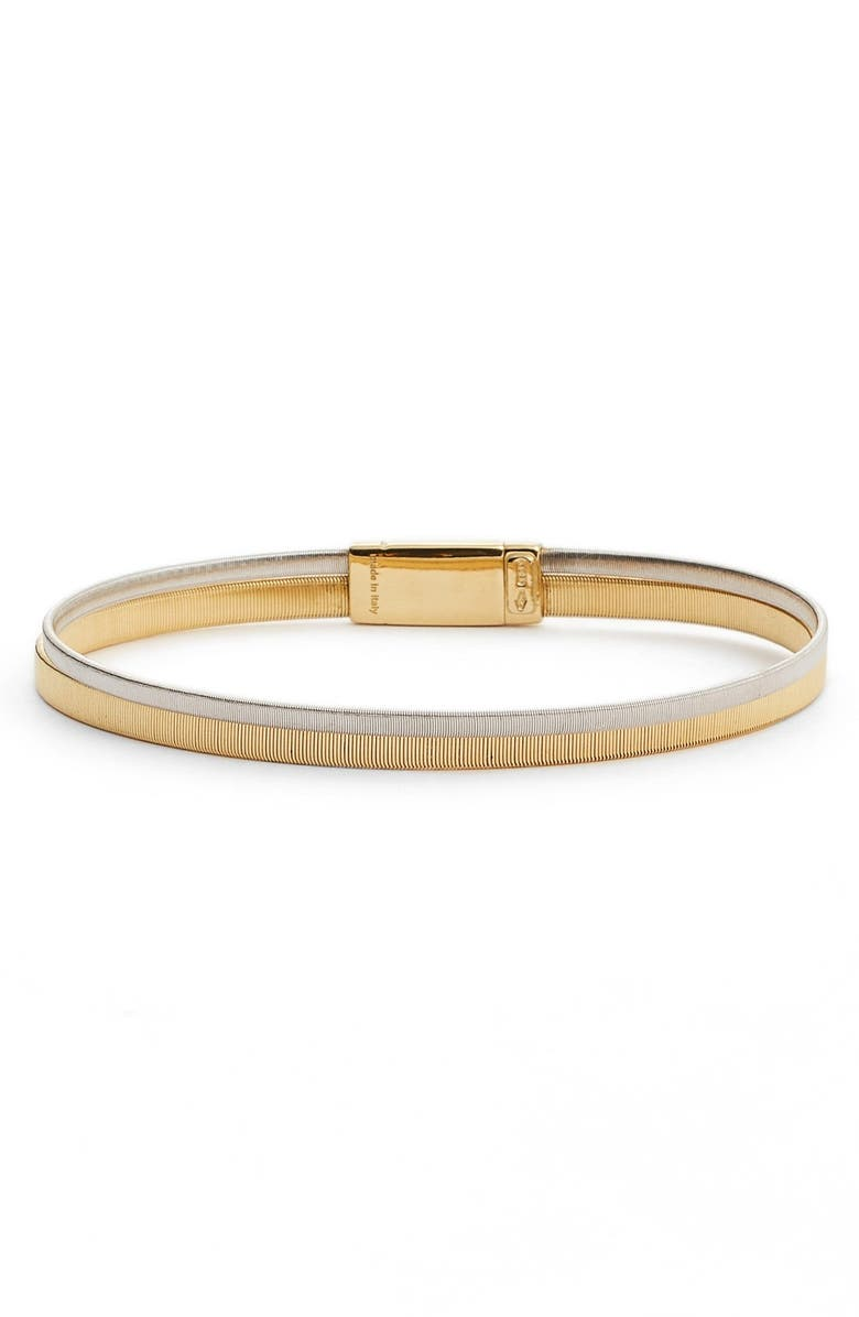 MARCO BICEGO Masai Stack Bracelet, Main, color, YELLOW GOLD