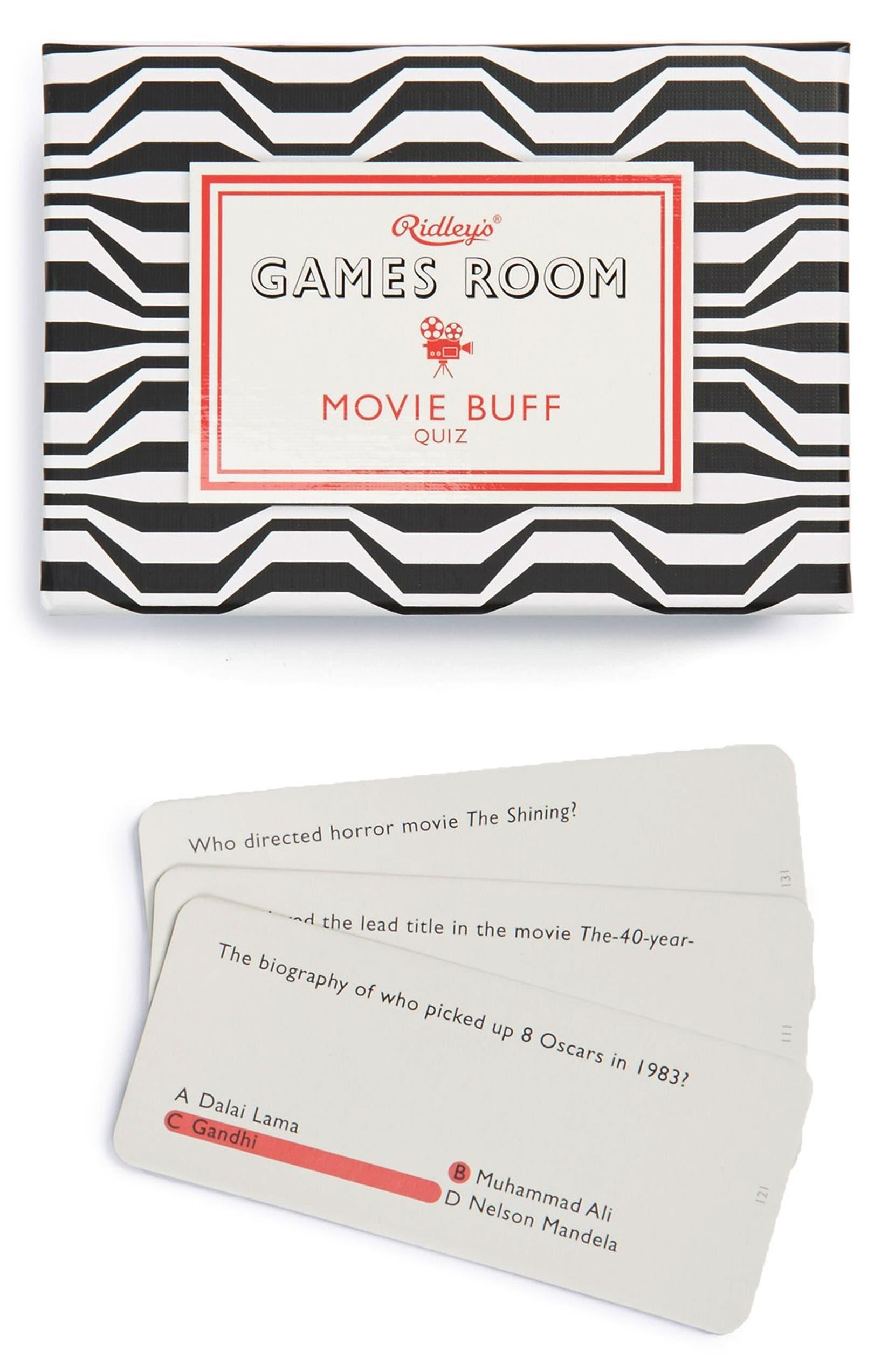 Ridley's Games Room 'Movie Buff' Quiz | Nordstrom