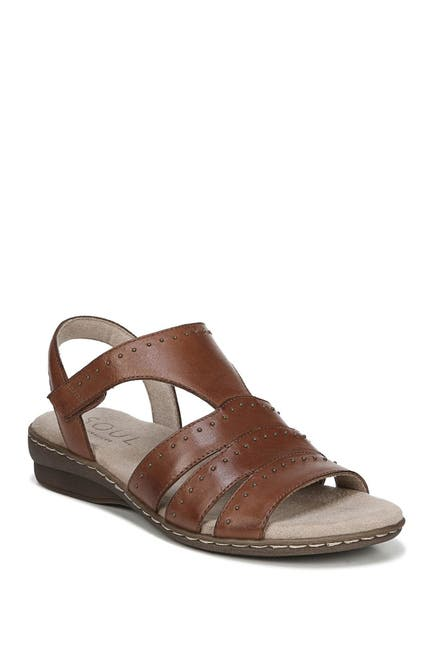 Image of SOUL Naturalizer Beacon Ankle Strap Leather Sandal