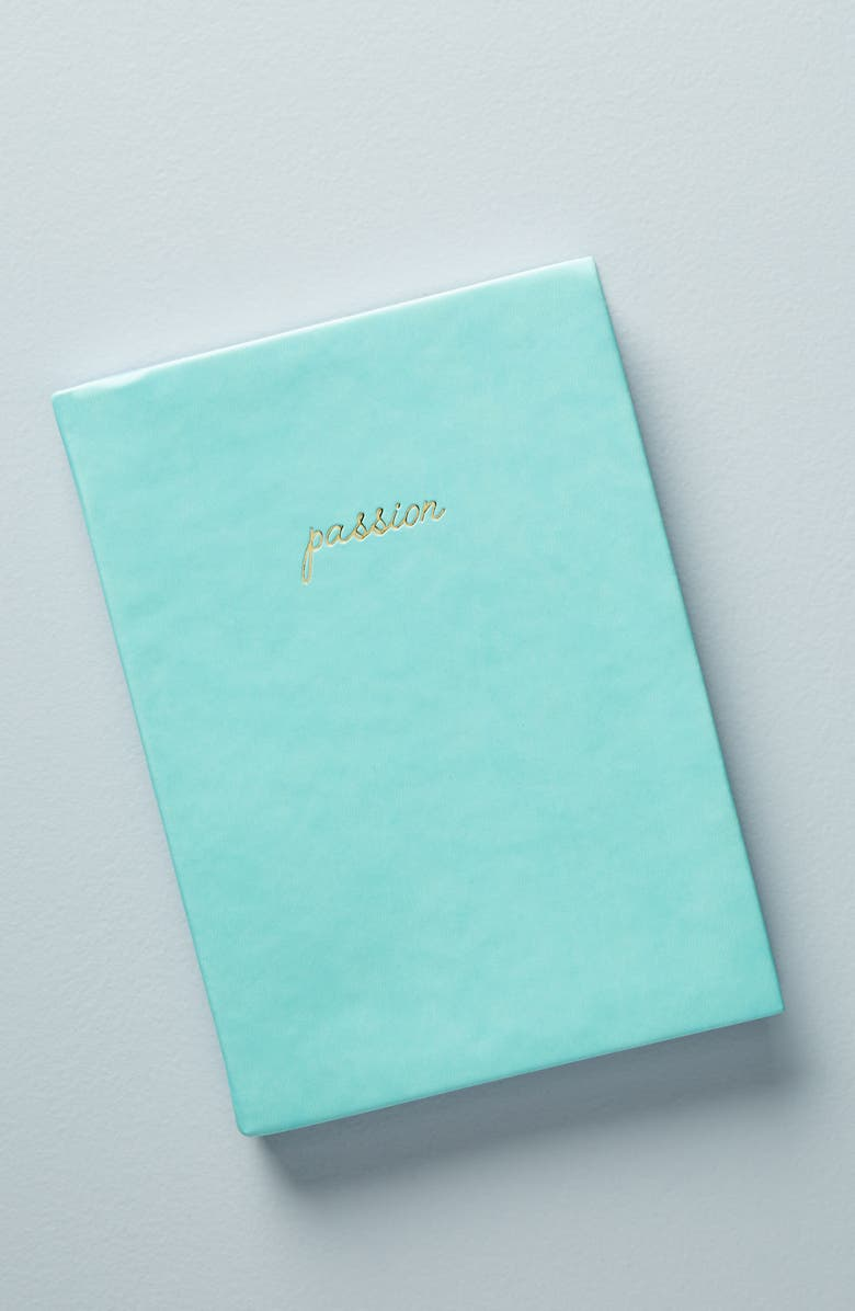 ANTHROPOLOGIE HOME Anthropologie Passion & Plan Journal, Main, color, 448