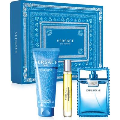 Versace Man Eau Fraiche Eau De Toilette Set ($135 Value)