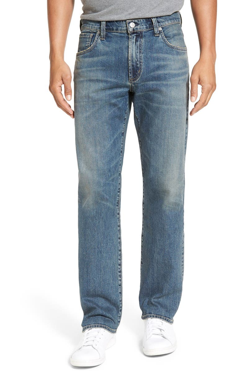 CITIZENS OF HUMANITY Sid Straight Leg Jeans, Main, color, HERTFORD