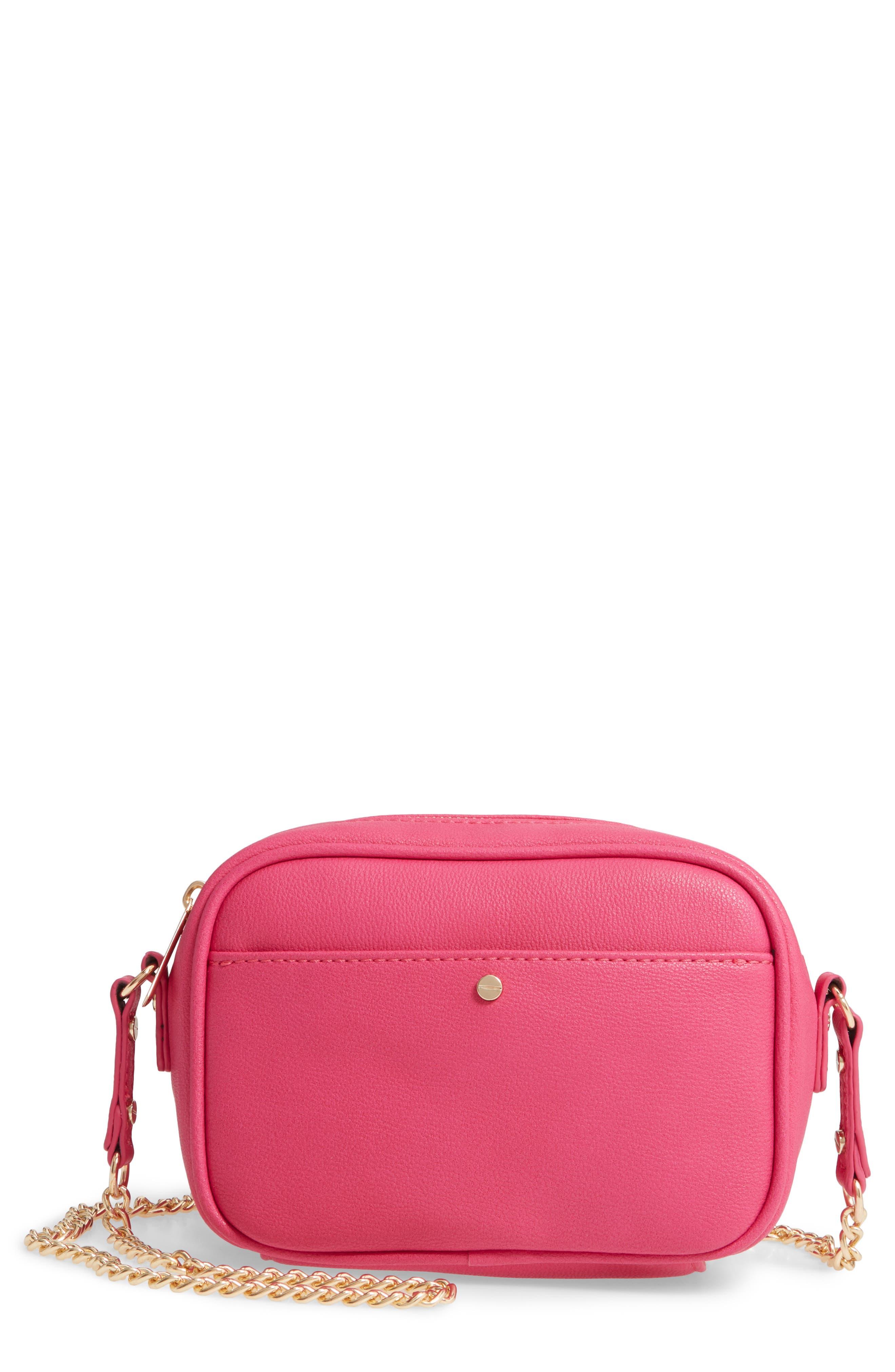 Mali + Lili Vegan Leather Camera Bag