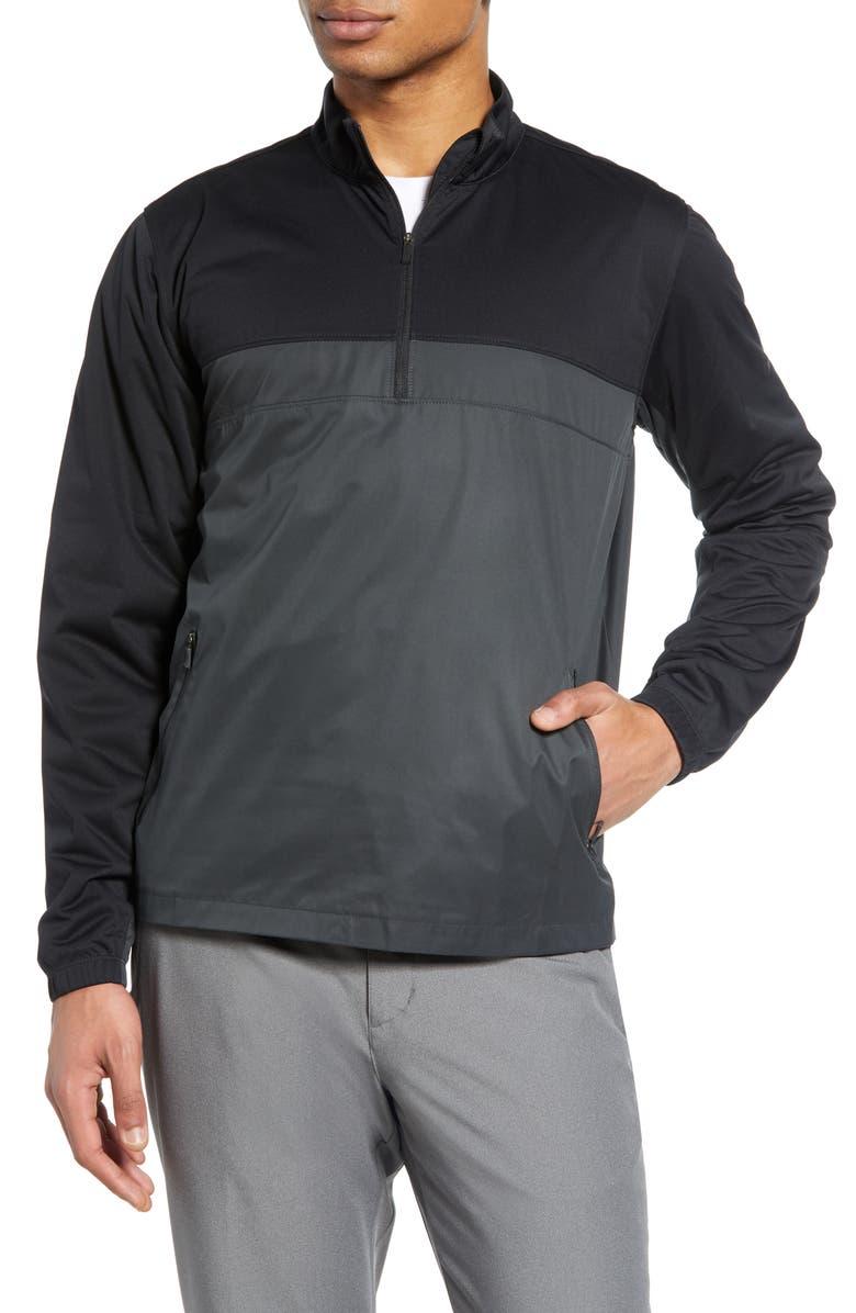 NIKE Shield Victory Half-Zip Golf Jacket, Main, color, 010