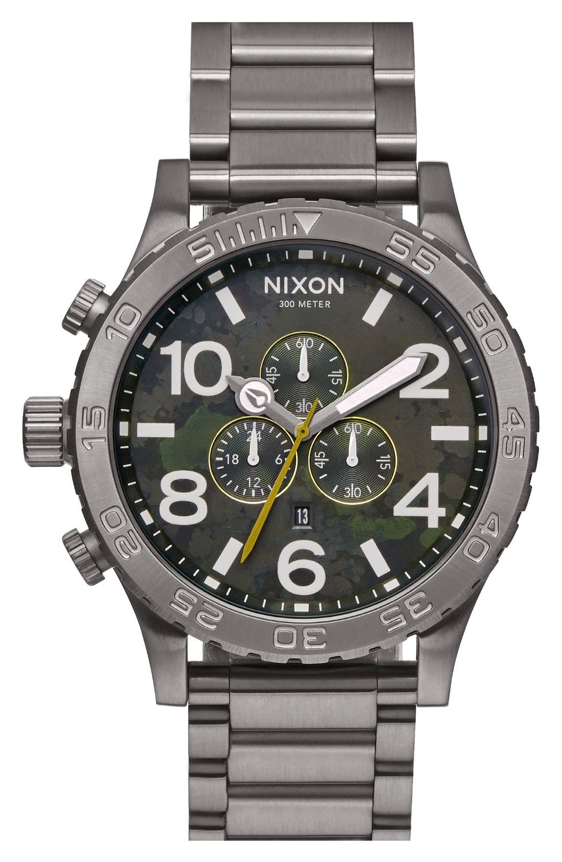 ,                             'The 51-30 Chrono' Watch, 51mm,                             Main thumbnail 40, color,                             022
