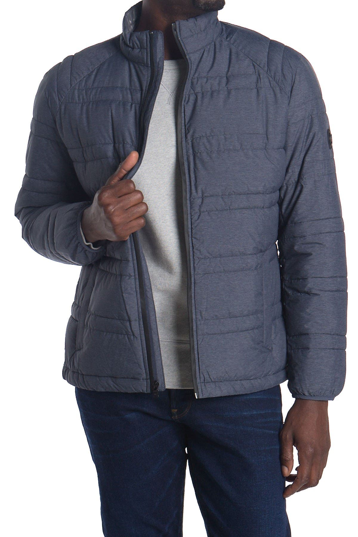 Image of Michael Kors Variegated Quilted Jacket