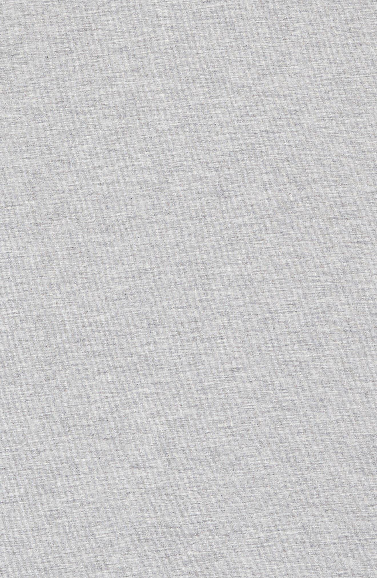 ,                             All Star Logo Jersey Dress,                             Alternate thumbnail 3, color,                             DK GREY HEATHER
