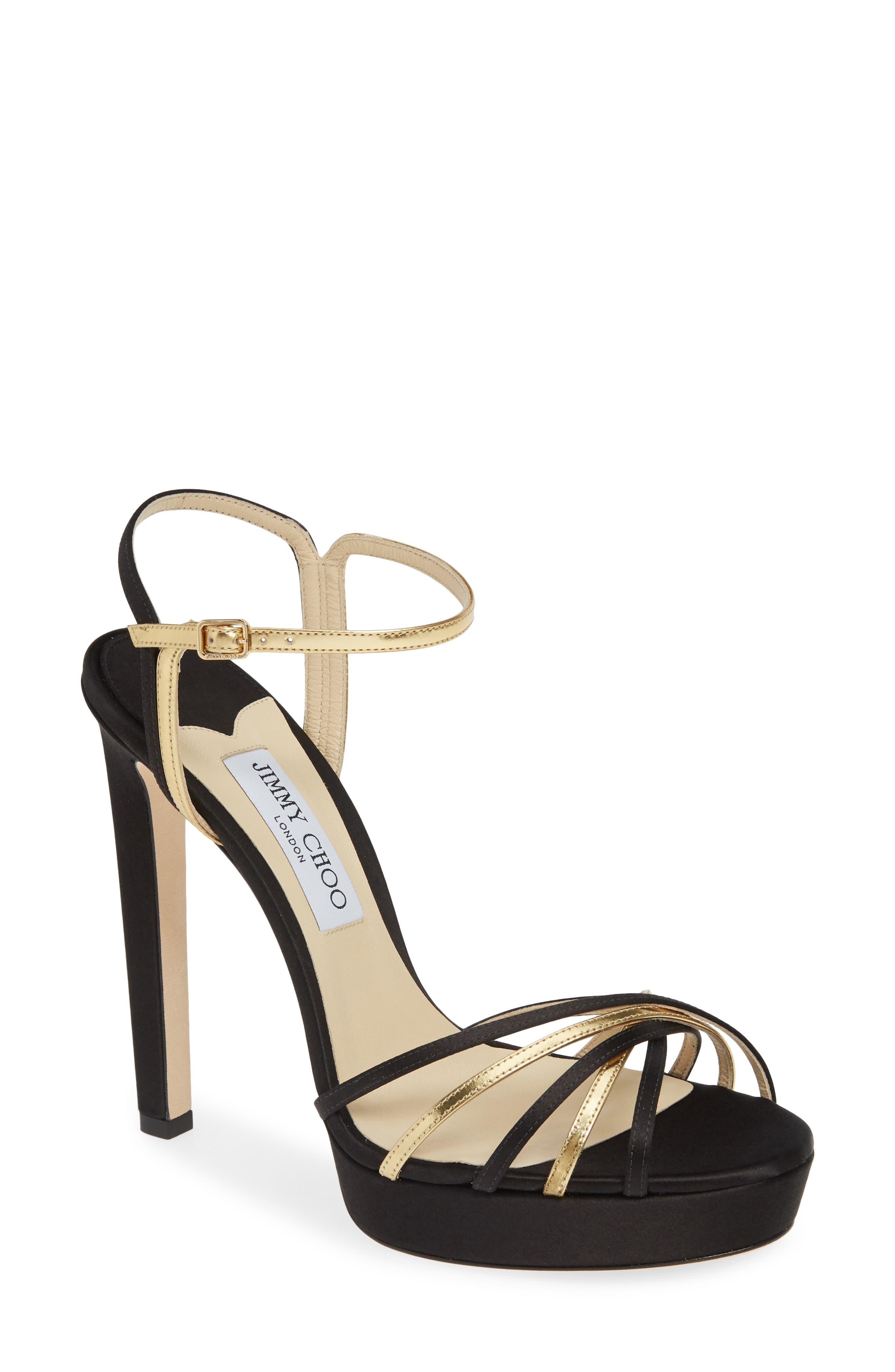 Jimmy Choo Slippers Lilah Strappy Platform Sandal