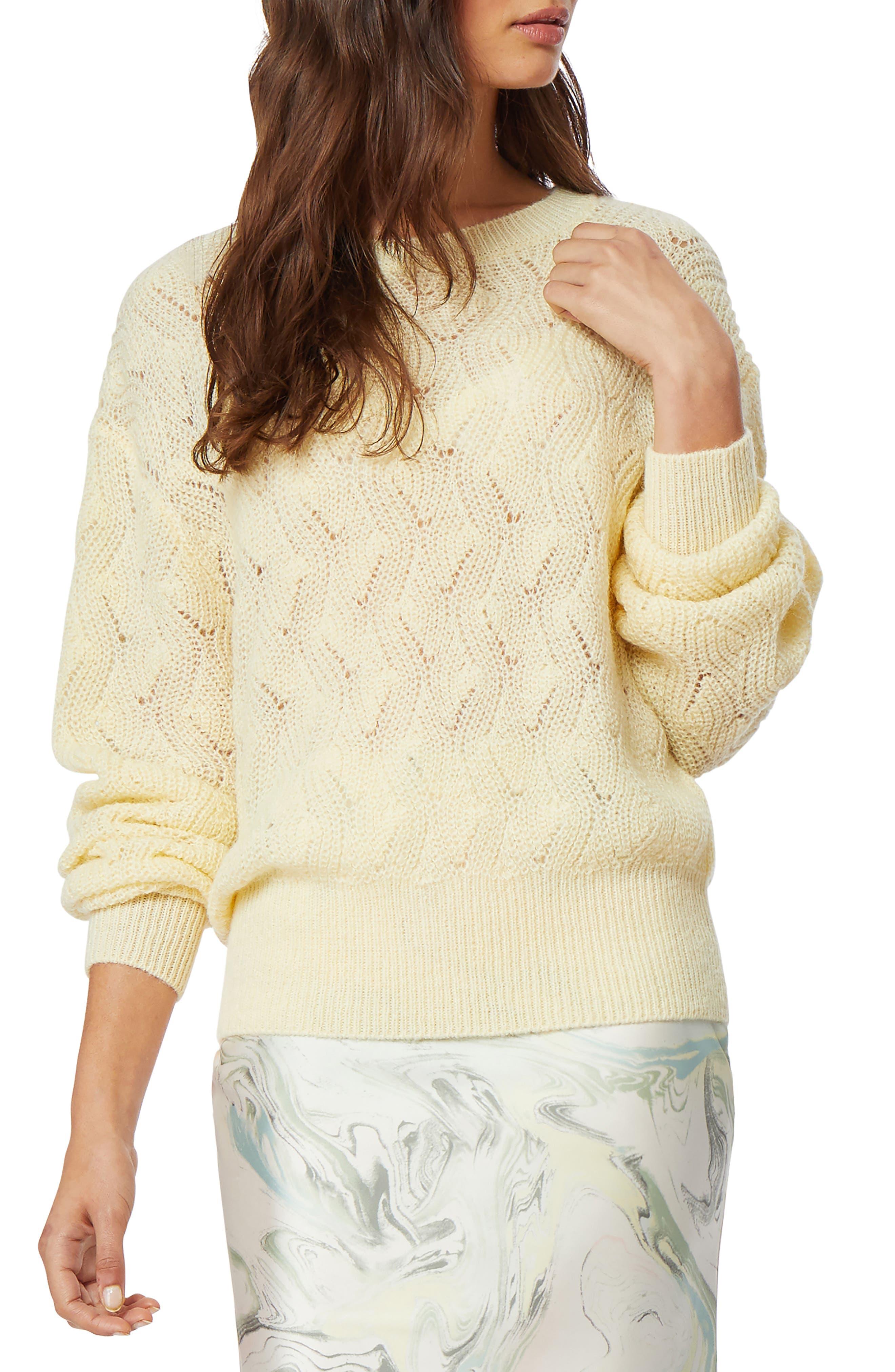 Image of Habitual Ayla Pointelle Sweater