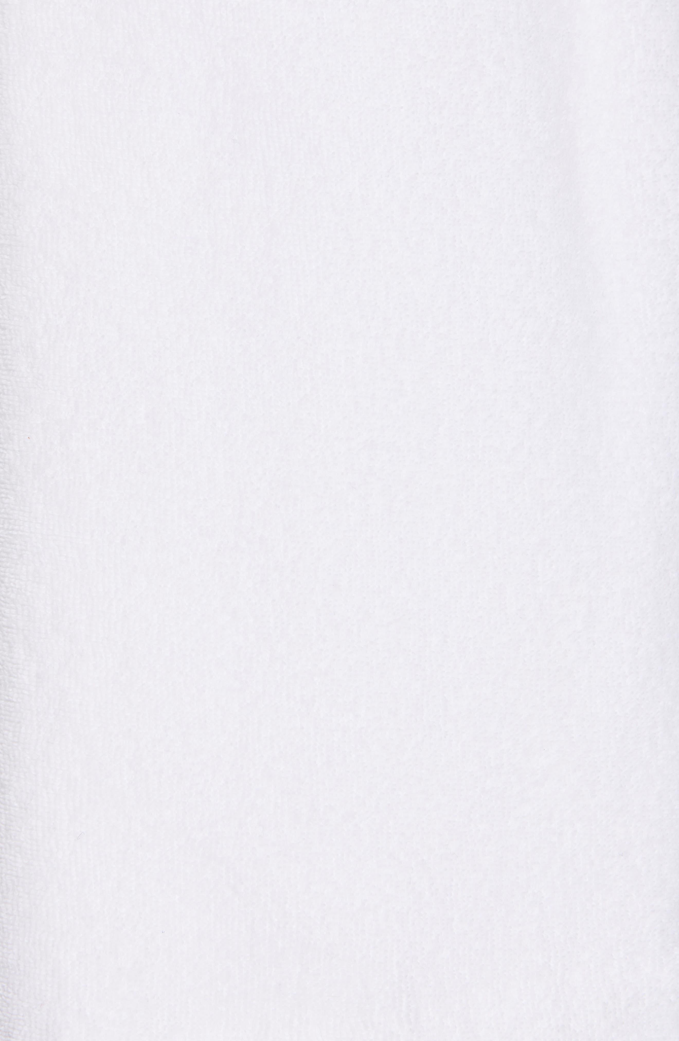 ,                             Drawstring Terry Shorts,                             Alternate thumbnail 5, color,                             OPTIC WHITE